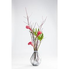 Pairing funky ribbed style with vibrant glass hues, this gorgeous vase makes for an ideal eye-catching centrepiece.Changing hue for contrasting colour dispersion. Pantone 2017 Colour, Color Of The Year, Hue, Greenery, Glass Vase, Centerpieces, Vibrant, How To Make, Home Decor