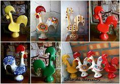 Galo de Barcelos - PORTUGAL .Our  Portuguese seynbol the cock .very  beautiful all so unique .