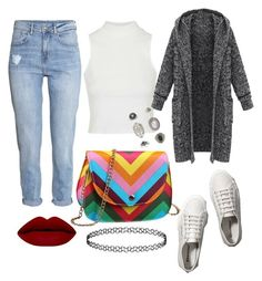 """""""Senza titolo #107"""" by bauletto on Polyvore featuring moda, H&M, Topshop, Abercrombie & Fitch, women's clothing, women's fashion, women, female, woman e misses"""