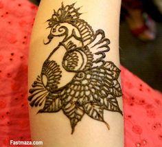 peacock mehendi designs - Google Search