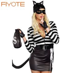 $20.45 Hot Sales Sexy Cat Burglar Costume New Spring Fantasia Sexual High Quality Sex Costumes For Women In Lowest Price #Sexy #Cat #Burglar #Costume #2016