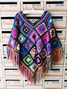 Poncho Handmade