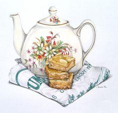 Coffee Almond Slice tablero: http://www.pinterest.com/ayamontinomaria/vintage-decoupage-3/