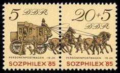 ALEMANIA Carruage Postal