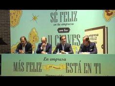 Presentación de 'La empresa más feliz del mundo' de David Tomás en Barcelona - YouTube Barcelona, David, Baseball Cards, Youtube, Happy, The World, Events, Books, Youtubers