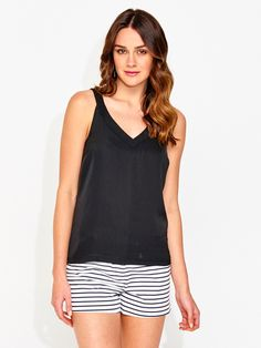 Woven Front Tank