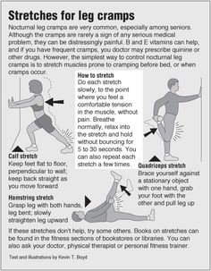 Menstrual Cramp Remedies Information graphic about Leg cramp stretches with links to acupressure for cramps and leg pain Remedies For Menstrual Cramps, Cramp Remedies, Health Remedies, Shin Splint Exercises, Shin Splints, Hip Problems, Medical Problems, Leg Pain, Back Pain