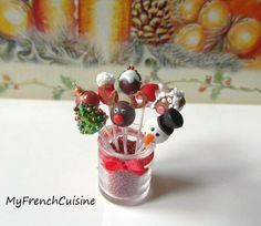 Hey, I found this really awesome Etsy listing at https://www.etsy.com/jp/listing/212599084/christmas-cake-pops-handmade-miniature