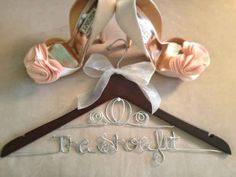 Get this hanger fit for a queen. | 33 Subtle Ways To Add Your Love Of Disney To Your Wedding