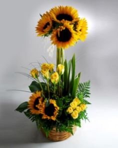 Creative and beautiful box flower arrangement home decor ideas 04