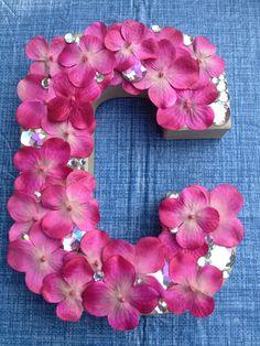 DIY letter decoration