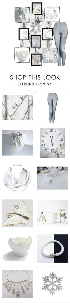 """""""Holiday Sparkle"""" by belladonnasjoy ❤ liked on Polyvore featuring Coalport, Pier 1 Imports, modern, rustic and vintage"""