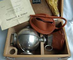 Ether inhalator; Toestel van Ombrédanne – Frankrijk – ca. 1925