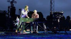 Auftritt mit Coldplay - War diese Aktion abgesprochen, Ferdinand?