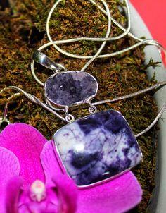 Crystal healing purple Teardrop faceted wire wrap Amethyst pendant reiki chakra gemstone silver Sterling 925 semiprecious stone