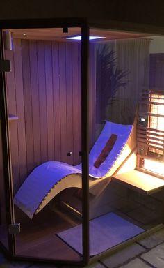 Sauna, Outdoor Furniture, Outdoor Decor, Sun Lounger, Home Decor, Ad Home, Ideas, Chaise Longue, Decoration Home