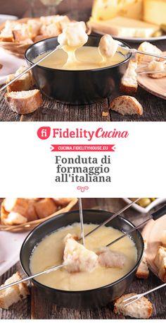 Fonduta di formaggio all'italiana
