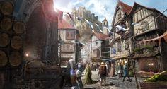 D&d Fantasy Village Art 5