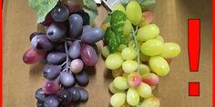 Grappoli d'uva in plastica Bel Flowers sequestrati dal Ministero della salute. Rischio soffocamento per i bambini.