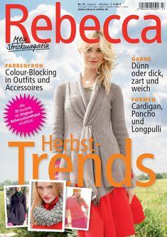Rebecca 47  Stricken mit Rebecca - Heft 47