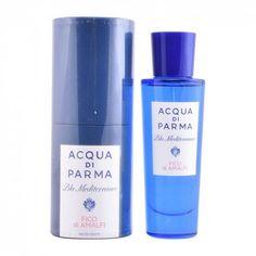 Let the original Unisex Perfume Blu Mediterraneo Fico Di Amalfi Acqua Di Parma EDT ml) surprise you! This exclusive unisex perfume is ideal Parma, Amalfi, Got2b Glued, Ck One Summer, Die 100, 30, Cool Things To Buy, Perfume Bottles, The Originals