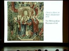 History lecture on the conservation techniques on tapestries over the years