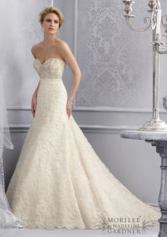 Bridal gown from Mori Lee by Madeline Gardner style 2678 at B.loved Boutique. Call today to schedule your appointment 812-271-1200. www.blovedfashions.com