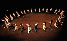 Credit: Tristram Kenton One of the year's hottest tickets was Pina Bausch's double bill of The Rite of Spring (above) and Cafe Muller at Sad...