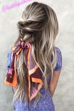 #HexiSilk Silk Scarf, hair scarf, hairstyle, hair color, hairstyle tips, silk bandana, turban