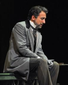 """""""A Family Affair  French baritone Laurent Naouri discusses playing Giorgio in the Dallas Opera's La Traviata, a role he usually plays opposite his real-life wife."""" via TheaterJones.com"""