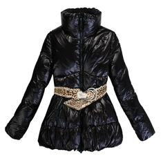 France Moncler New Black Coat Women For Sale