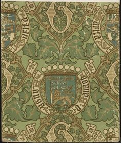 Wallpaper | Pugin, Augustus Welby Northmore | V&A
