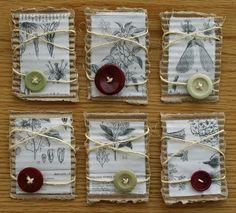 Artist's Trading Cards. Natural Beauty by Shanda Panda, via Flickr