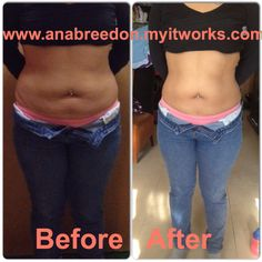 1 Wrap after. My sister was very happy. The ultimate body applicators do work. Do it right and follow instructions and you will have amazing results guaranteed! Email if interested at: anaitworksglobal@gmail.com  Or to order go to www.anabreedon.myitworks.com