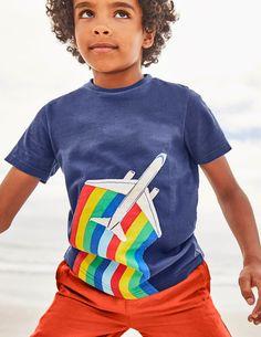531895ec9 Novelty Travel T-Shirt by Mini Boden Boys Clothes Sale, Boden Boys, Travel