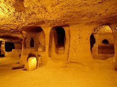 The underground city of Derinkuyu