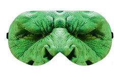 Orc Sleep Eye Mask Masks Sleeping Blindfold Night Eyes cover covers patch Eyemask Sleepmask Eyewear Travel Kit Blindfold Eyeshade Eyemasks by venderstore on Etsy