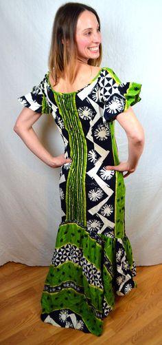107865cc Vintage 1950s Early Shaheen Fabric Hawaiian 50s by RogueRetro Tiki Dress, Party  Costumes, Tiki