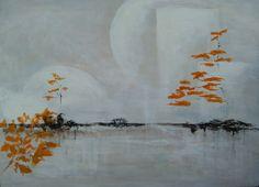 "Saatchi Online Artist Aase Lind; Painting, "" AUTUMN (Sold)"" #art"