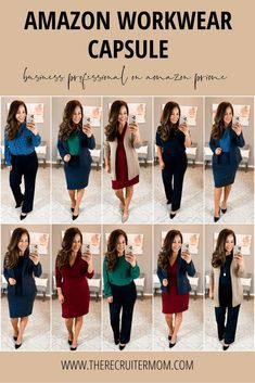 how to style outfits Business Professional Outfits, Business Casual Outfits For Women, Business Casual Attire, Professional Wardrobe, Professional Dresses, Casual Work Outfits, Business Outfits, Work Attire, Office Outfits