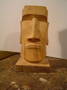 Wood Carving Face - Easter - DSC06033.JPG (1200×1600)