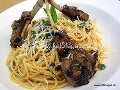 Anogeia Lamb With Macaronia