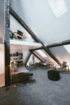 on something, justthedesign: Living RoomLoft Conversion