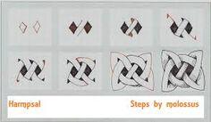 Resultado de imagen para tanglepattern