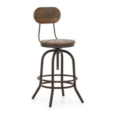 Twin Peaks Distressed Natural Counter Chair | Overstock.com Shopping - The Best Deals on Bar Stools