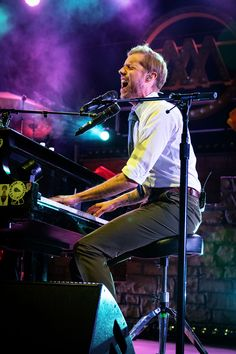 Andrew McMahon In The Wilderness - Flor - Grizfolk - Denver Concert Photos - The Fillmore Auditorium