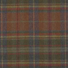 Thirlestone Plaid – Woodland - Plaids - Fabric - Products - Ralph Lauren Home - RalphLaurenHome.com
