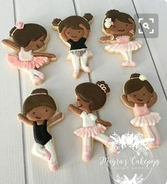 Ballerina on Point Cookie and Fondant Cutter Fancy Cookies, Iced Cookies, Cute Cookies, Cupcake Cookies, Sugar Cookies, Wedding Cake Cookies, Birthday Cookies, Cookie Frosting, Royal Icing Cookies