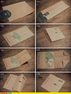 diy CD wrap