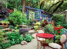 Image result for Funky Garden Ideas